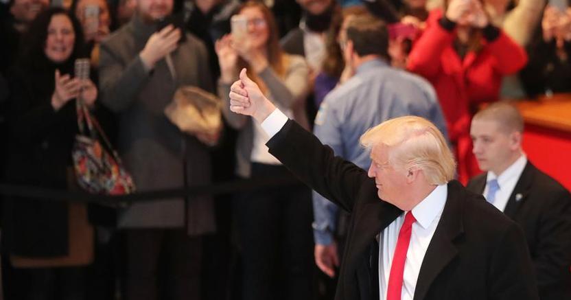 Usa: Trump svela il piano dei 100 giorni, non c'è il muro